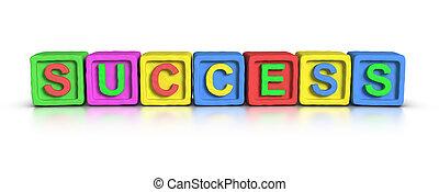 Play Blocks : SUCCESS