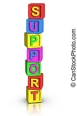 Play Blocks : SUPPORT