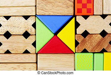 play building blocks