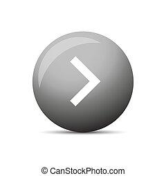 Play button round