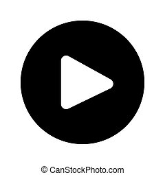 Play Button Web Icon - msidiqf