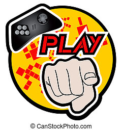 Play icon - Creative design of play icon
