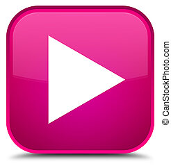 Play icon special pink square button
