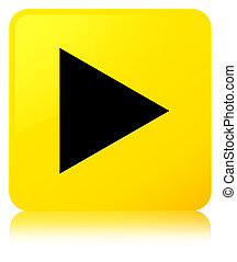 Play icon yellow square button