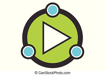 play logo icon vector design