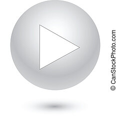 Play on gray button