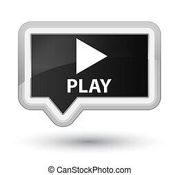 Play prime black banner button