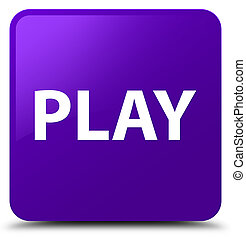 Play purple square button