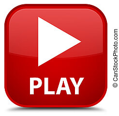 Play special red square button