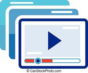 Play Video Illustration
