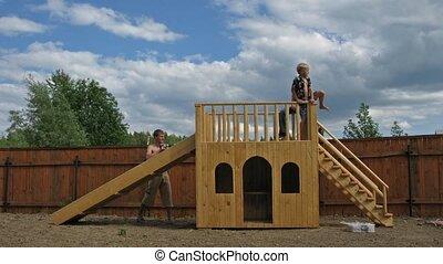 play yard chute time lapse