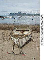 playa, boat.