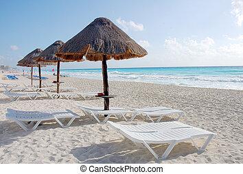 playa cancun, carribean, mar, méxico