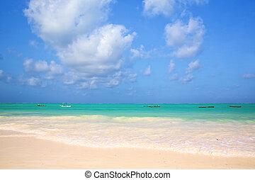 playa de arena, zanzibar
