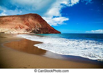 Playa de la Tejita in Tenerife