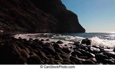 Playa De Masca, Tenerife, Spain - Graded and stabilized...