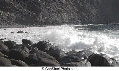 Playa De Masca, Tenerife, Spain - Native Material, straight...