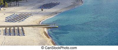 Playa de santa ponsa in mallorca