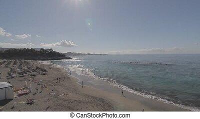 Playa del Duque, Tenerife, Spain - Native Material, straight...
