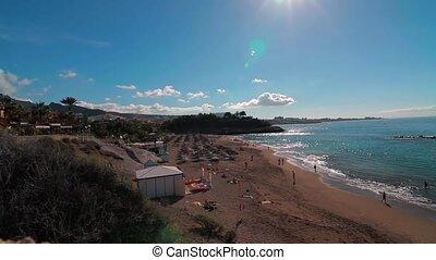 playa, del, duque, teneriffa, spanien
