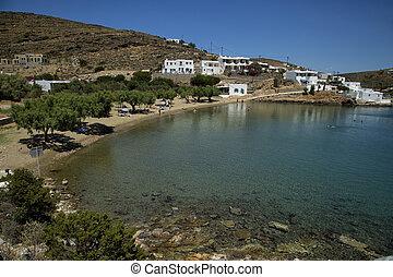 playa, glifo, sifnos, grecia