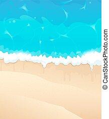 playa, océano