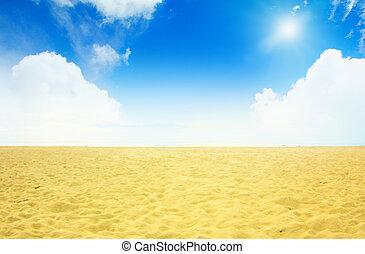 playa, plano de fondo