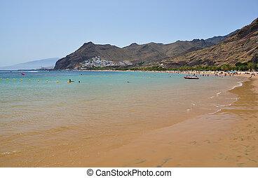 Playa Teresitas. Tenerife, Canaries