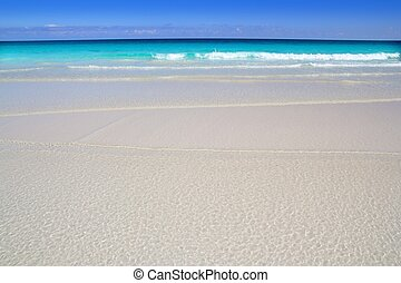 playa, tropical, turquesa, caribe, agua