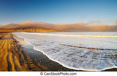 playa, vacío