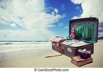 playa, vacaciones