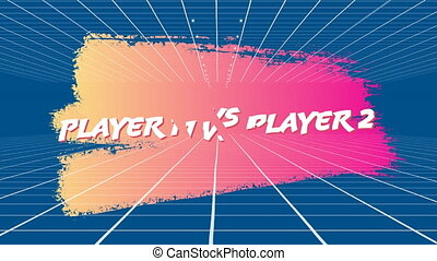 Player 1 vs Player 2 screen