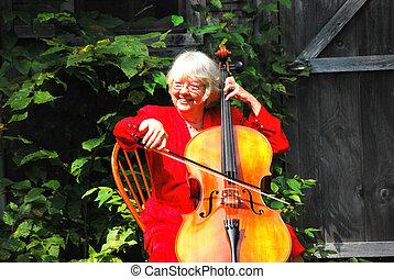 player., cello