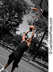 Player Dunking