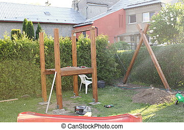 playground., 建設