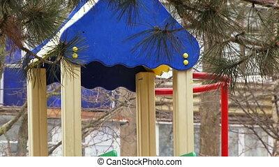 Playground - Children's playground in the courtyard...