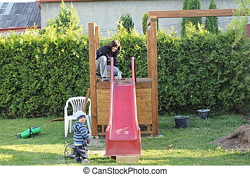 playground., construction