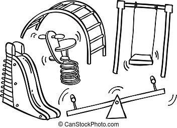 playground doodle