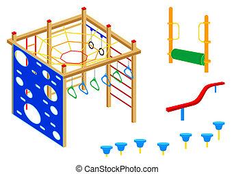 Playground equipment | Set 4
