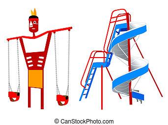 Playground equipment | Set 5