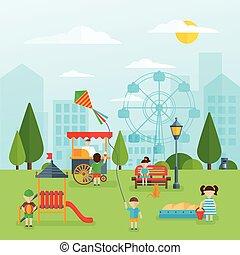 Playground Flat Concept