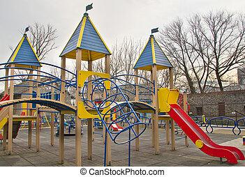 playground in children's park