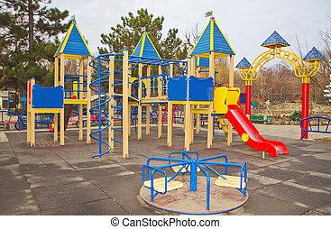 playground in park
