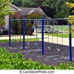 Playground is Empty no Children