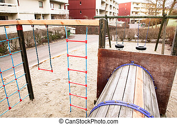 Playground near Apartments - A local playground amoungst...