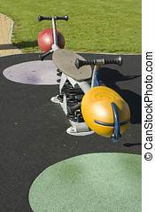 Playground see-saw