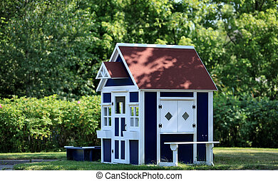 playhouse in the garden