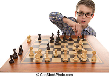 Playing a game of chess