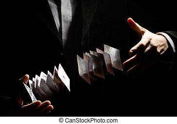playing-card, 문장의 선화