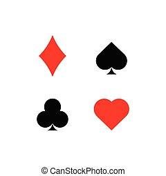 Playing Card Suit Icons